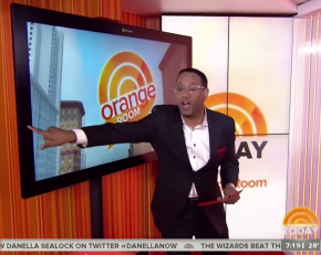 Mario Armstrong Hosting the Orange Room