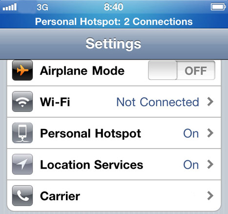 os 4 3 will bring mobile hotspot to at t iphone 4 mario armstrong. Black Bedroom Furniture Sets. Home Design Ideas