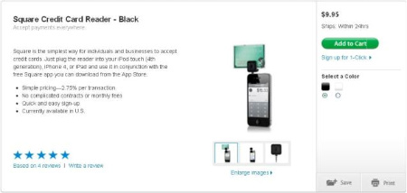 Square Reader on Sale at Apple - Mario Armstrong
