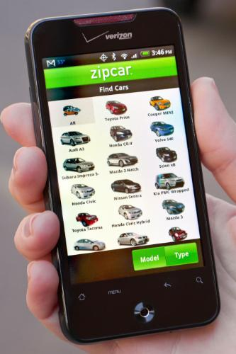 Zipcar App For Android Takes Your Car Reservation Experience Mobile Mario Armstrong