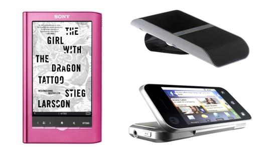Sony PRS350 eReader BlueAnt S4 ATT Motorola Backflip