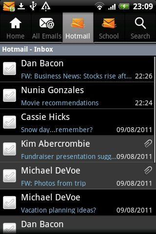 Hotmail for Kindle Fire