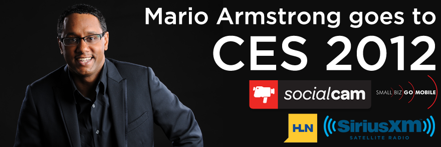 Mario Armstrong Goes to International CES 2012