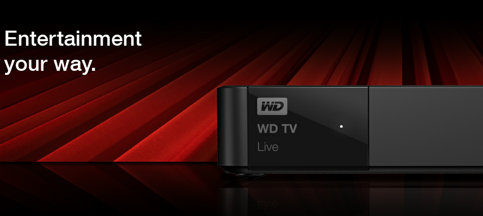 WD TV Live - Entertainment Your Way