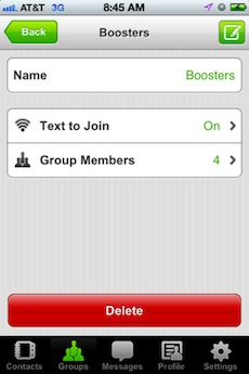 Text Business Application, Text Message Marketing