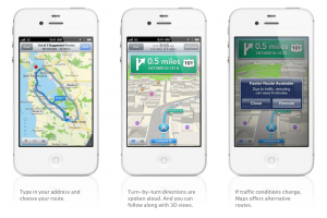 Apple Maps for iOS6