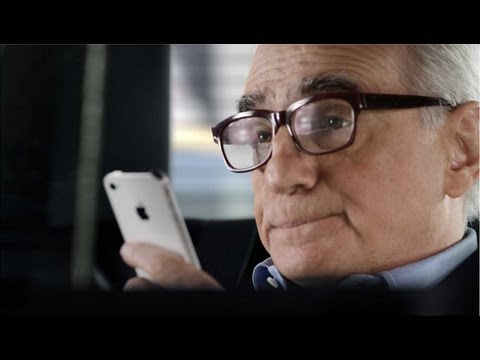VIDEO: New Apple iPhone 4S Ad Featuring Martin Scorsese Talking to Siri
