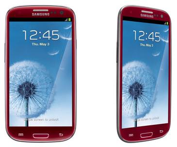 Garnet Red Samsung Galaxy S III 4G LTE Smartphone