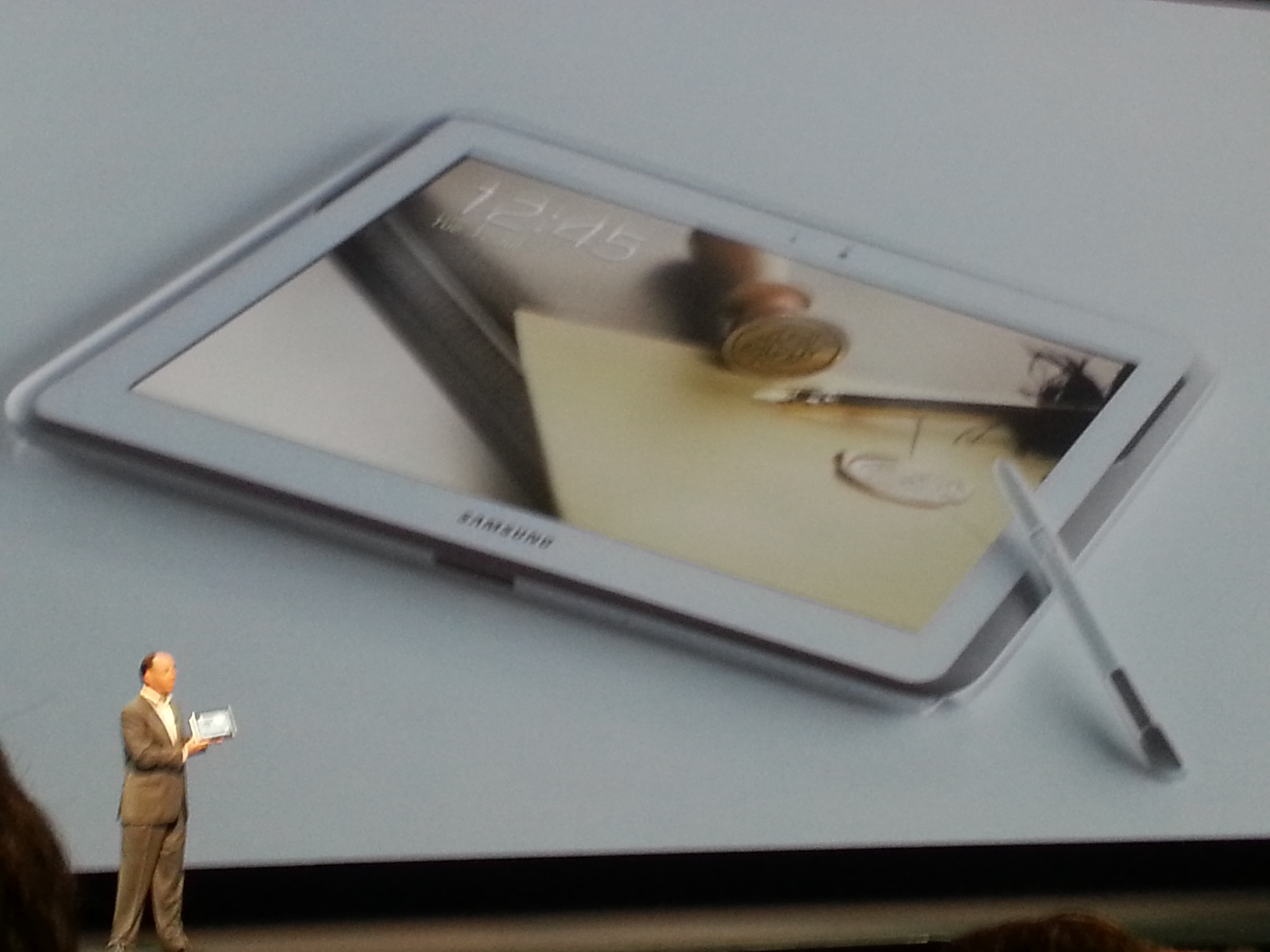 Samsung Galaxy Note 10.1 Launch Picture