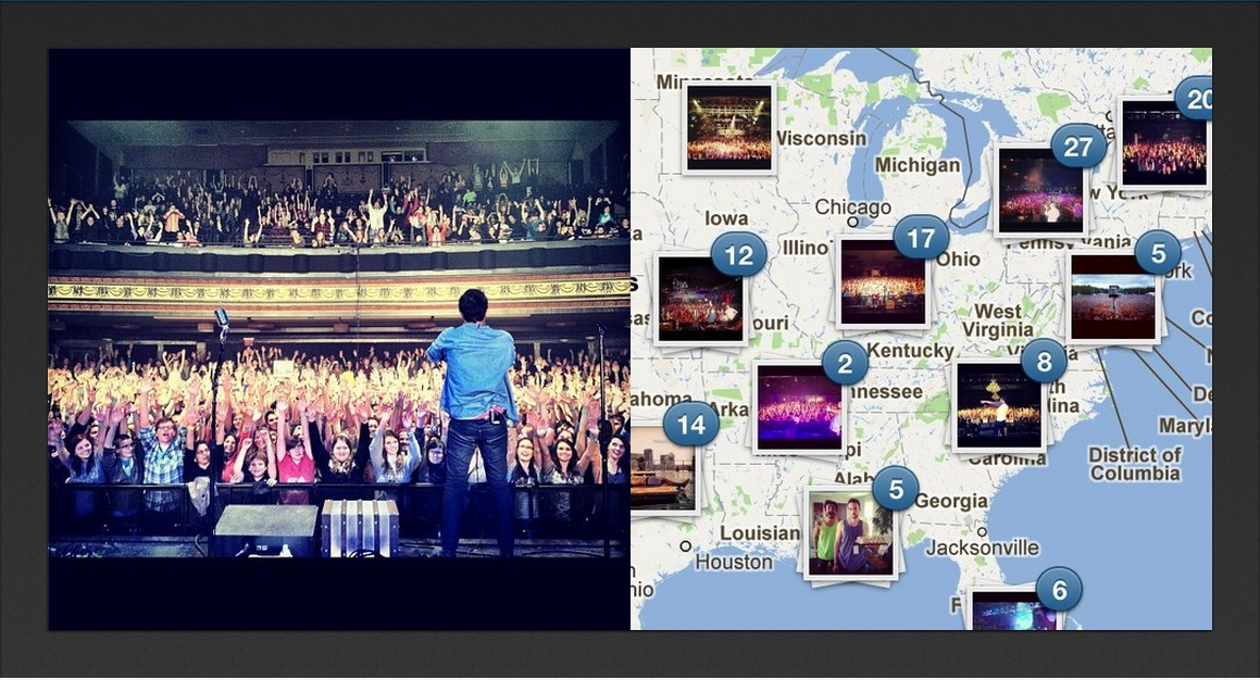 instagram maps screenshot