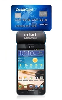 Galaxy Note with Intuit GoPayment