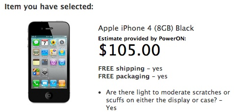 Apple iPhone buyback offer