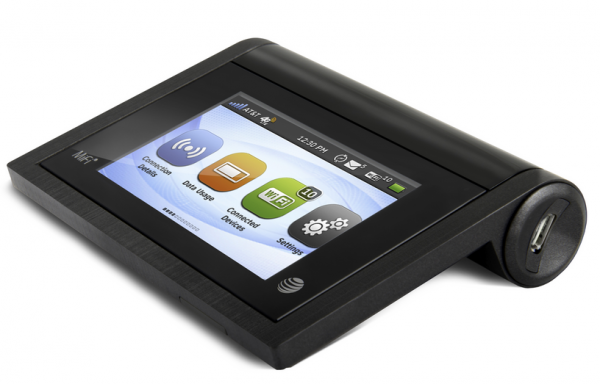 MiFi Liberate Touchscreen 4G LTE Hotspot from AT&T