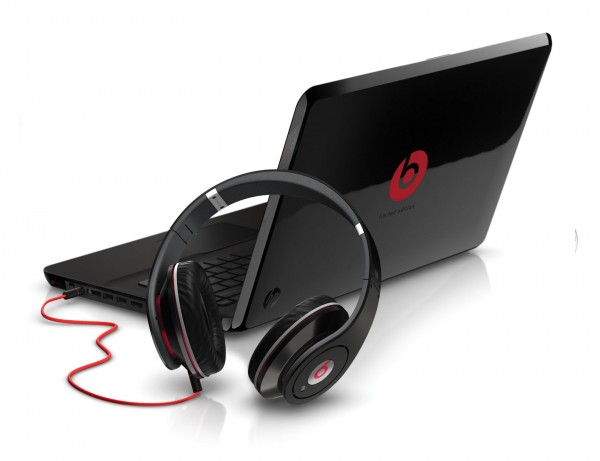 Picture of Beats by Dre inside laptop computer