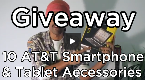 giveaway 10 att smartphone tablet accessories