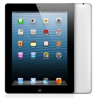 iPad 4 with retina display
