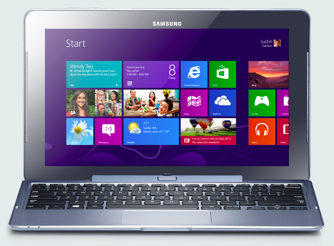 samsung ativ smart pc tablet hybrid