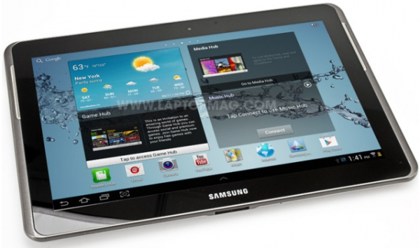 Try Office365 on the new Samsung Galaxy Tab 2 10.1