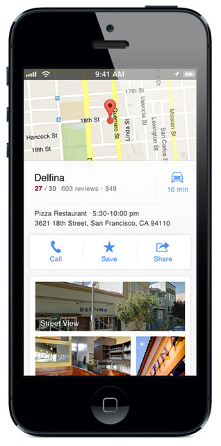 new google maps app for iPhone