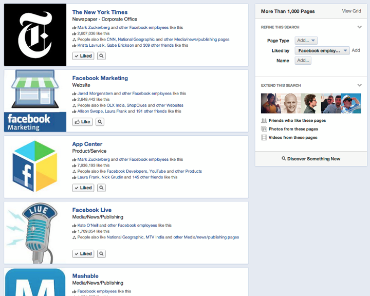 What Facebook's New Social Graph Search May Mean for Small Businesses