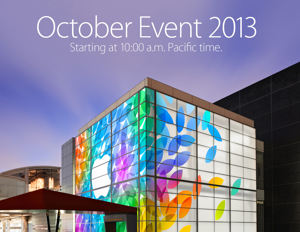 Apple October Event 2013-2