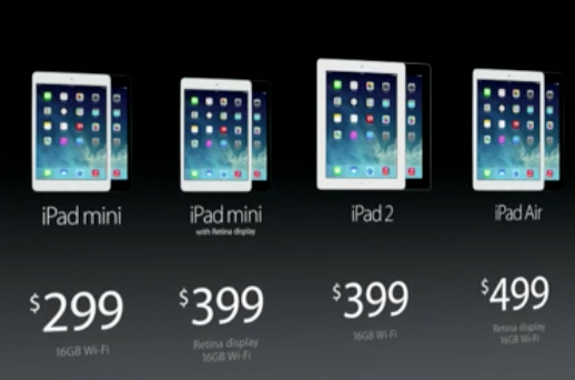 Apple Special Event iPad 5 Mac Pro iPad mini Retina 2013-10-22 at 1.19.19 PM
