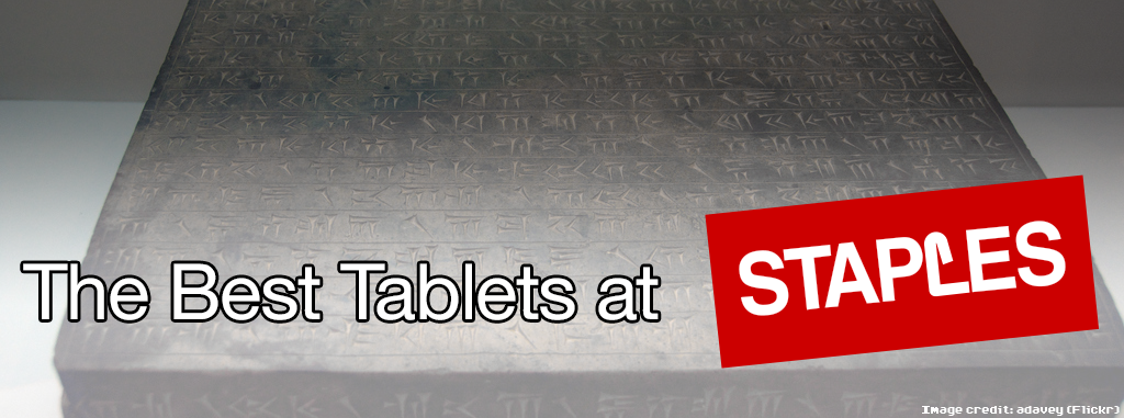 best tablets staples