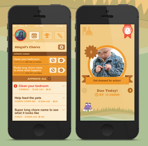Motivate your kids to do their chores with free app Choremonster