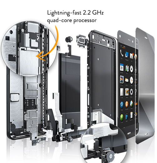 fire phone hardware