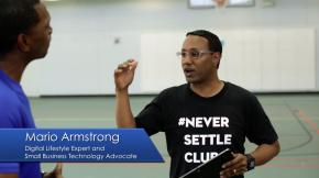 Mario Armstrong Hosting CUBED presented bt ATT
