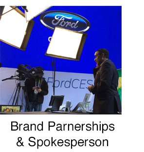 Brand Partnerships and Spokesperson